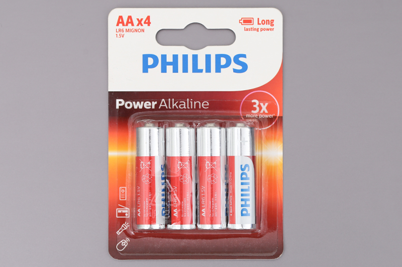 Thay pin Alkaline cho khóa cửa vân tay