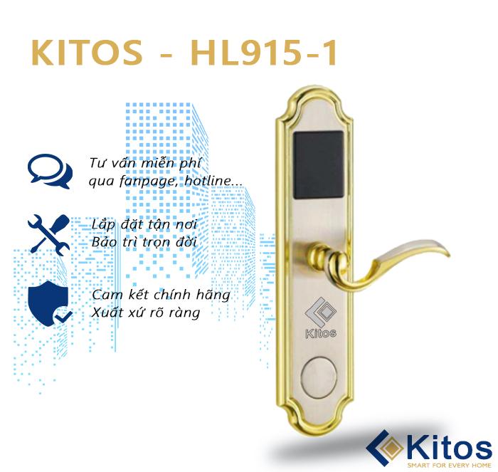 Khóa thẻ từ khách sạn Kitos KT-HL915