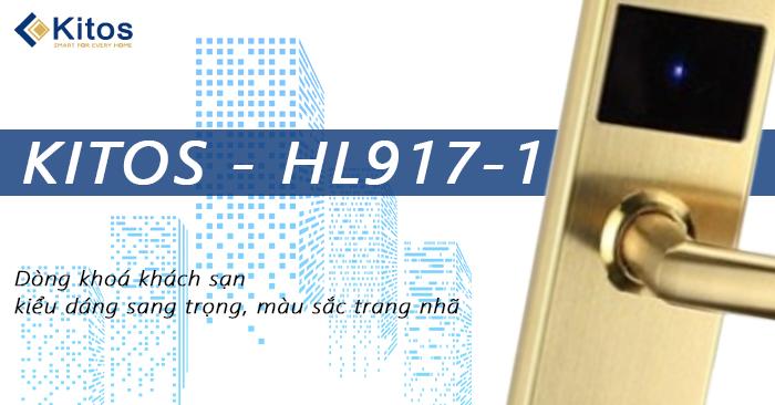 Khóa thẻ từ khách sạn Kitos KT-HL917