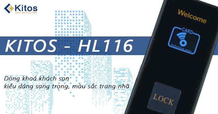 Khóa thẻ từ khách sạn Kitos KT-HL116