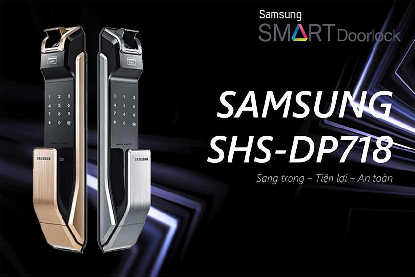Khóa cửa điện tử Samsung P718