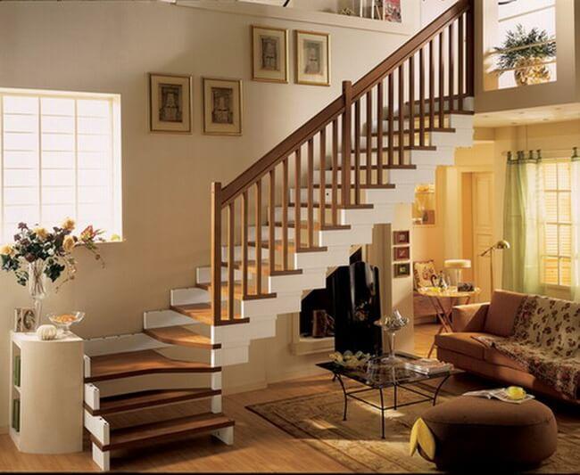 Cách bố trí cầu thang trong nhà ống đẹp chuẩn phong thủy cho nhà