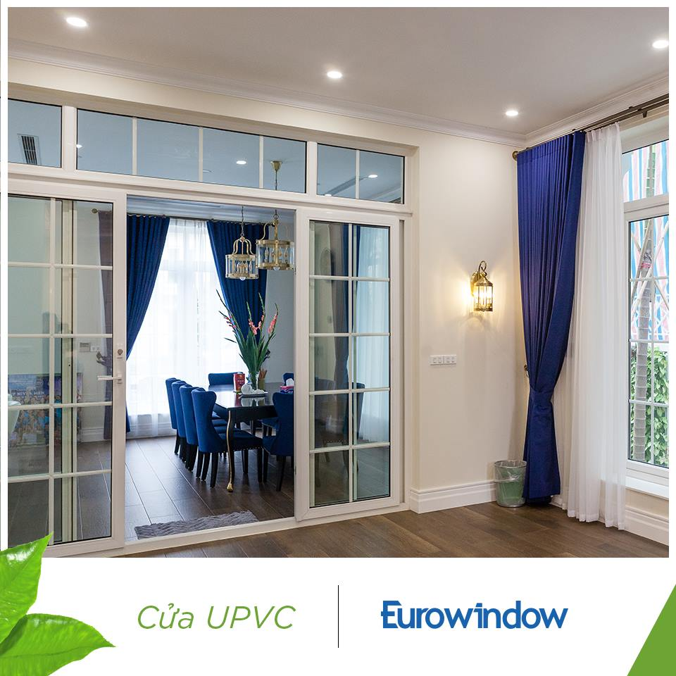 Cửa nhựa lõi thép Eurowindow đẹp nên dùng nhất 2020