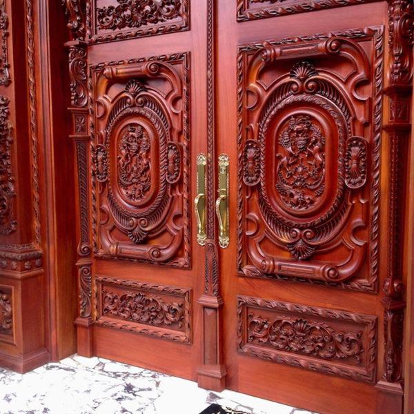 10+ các mẫu cửa gỗ đẹp hiện đại và sang trọng cho bạn tham khảo