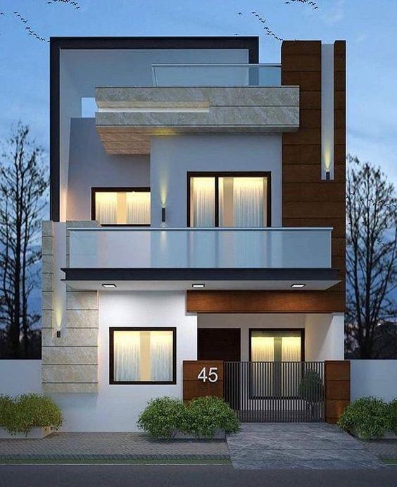 Mẫu nhà phố mặt tiền rộng 8m