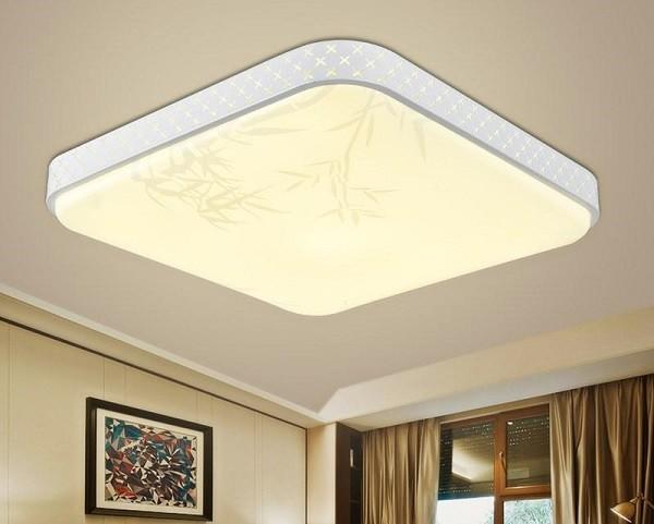 đèn led ốp trần phòng khách