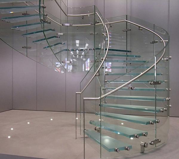 29+ mẫu cầu thang kính cường lực đẹp hiện đại giá tốt 2019