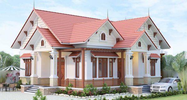 Bên cạnh đó, phong cách của các mẫu nhà cấp 4 còn thích hợp với kiến trúc nhà truyền thống của người Việt, vừa đủ công năng sử dụng, dễ dàng tiết kiệm chi phí, đảm bảo sự thoáng mát…được nhiều chủ đầu tư lựa chọn.