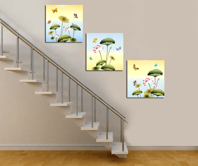 Trang trí bậc tam cấp cầu thang đẹp sang trọng nhất