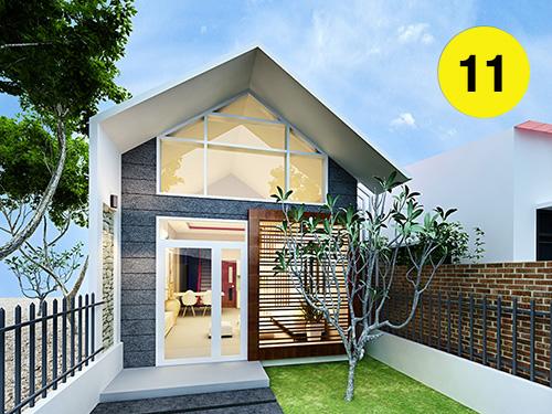 mẫu xây nhà cấp 4 khoảng 300 triệu đẹp