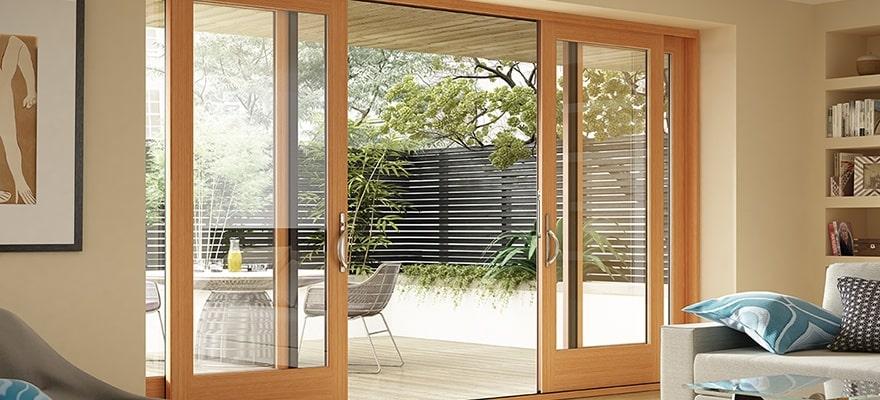 20+ mẫu cửa kính cường lực khung gỗ đẹp nhất 2019