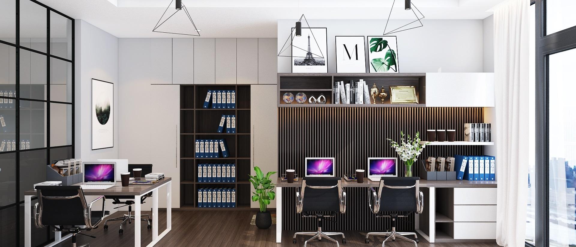 Top mẫu trang trí phòng làm việc công sở, cơ quan, tại nhà đẹp độc đáo