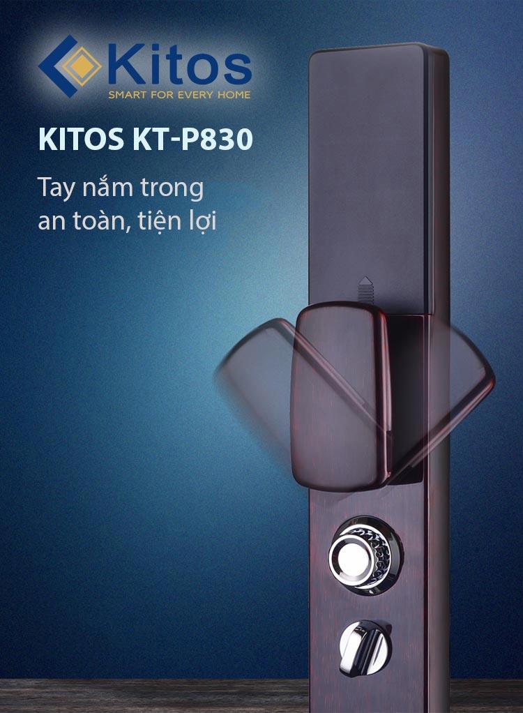 khoá cửa vân tay Kitos KT-P830