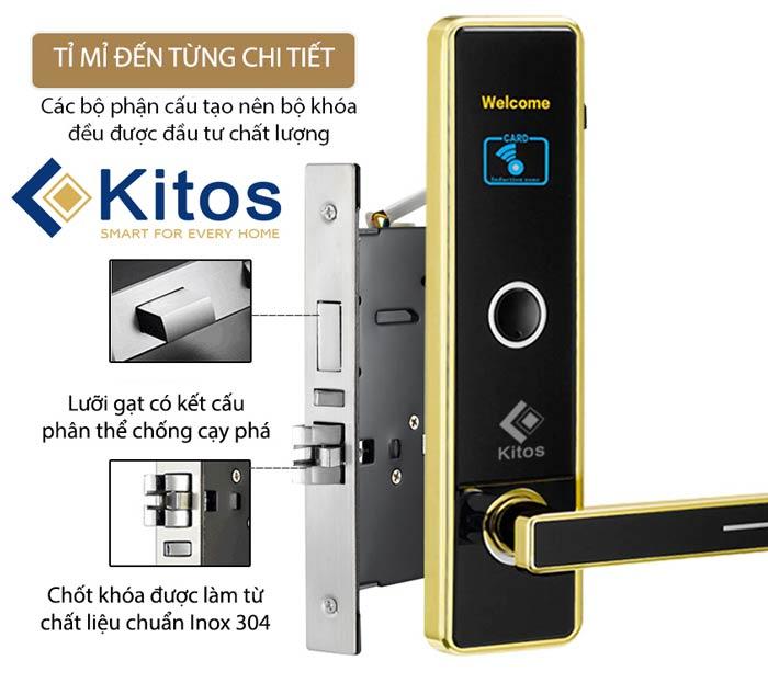 Khóa thẻ từ khách sạn Kitos KC-763