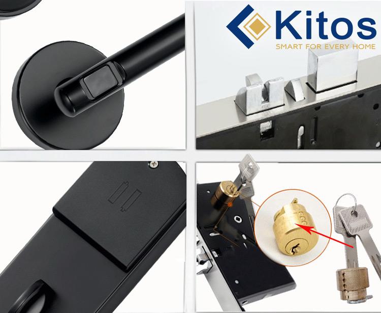 Khóa thẻ từ khách sạn Kitos KC-803