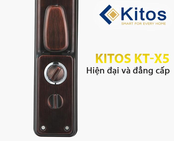 Khóa cửa vân tay cao cấp KT_X5