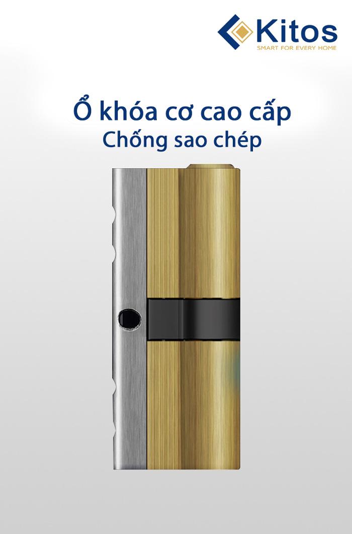 Khóa cửa mã số thẻ từ Kitos KT-A30SK