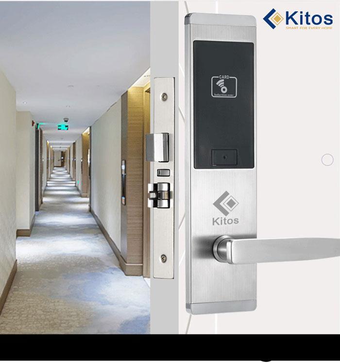 Khóa cửa thẻ từ khách sạn Kitos KC633