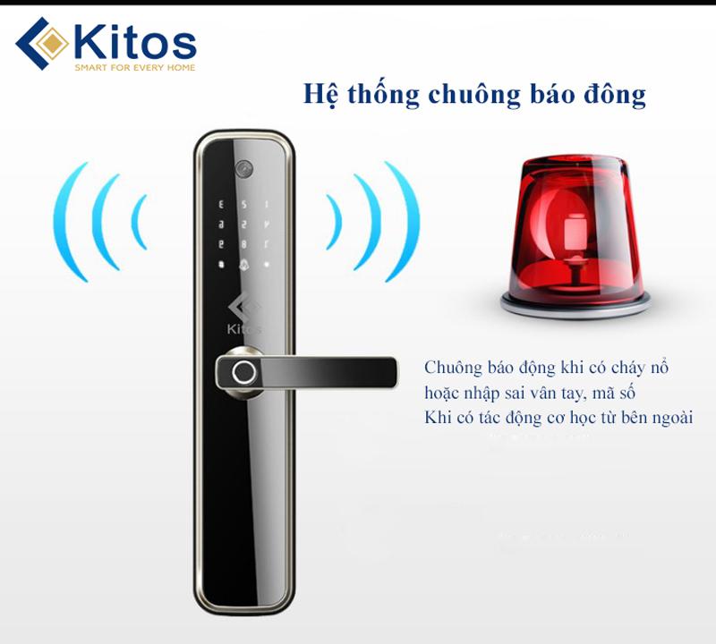 Khóa vân tay camera Kitos KT-X3