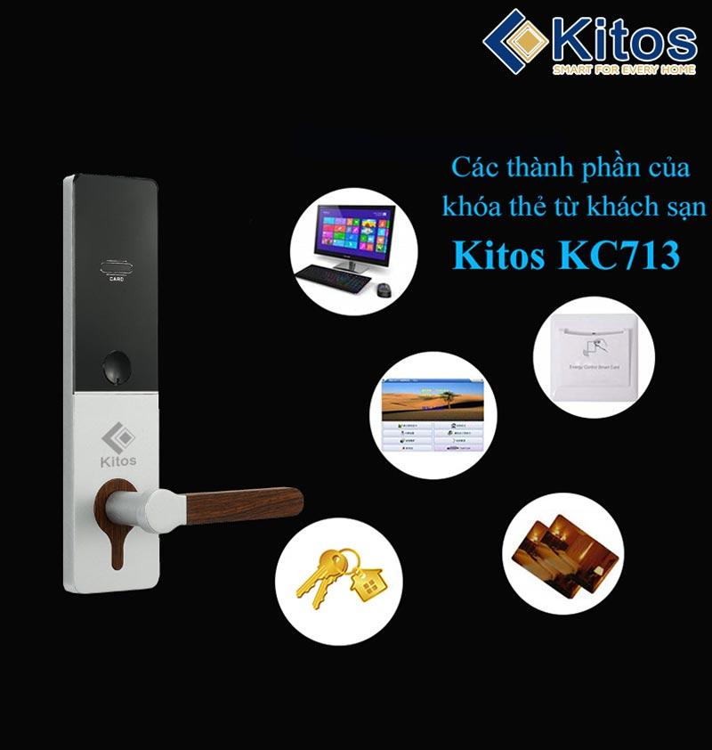 Khóa thẻ từ Kitos KC-713
