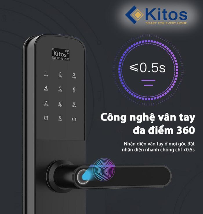 Khóa cửa vân tay Kitos KT-G600