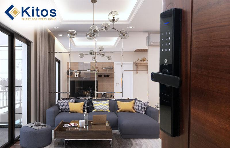 Những tiện ích tích hợp ngay trên khóa cửa điện tử Kitos cao cấp mà bạn nên biết ?