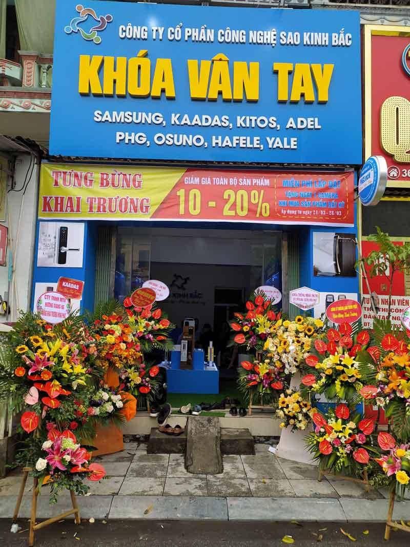Kitos Vietnam chúc mừng đại lý tại Bắc Ninh Khai Trương Hồng Phát