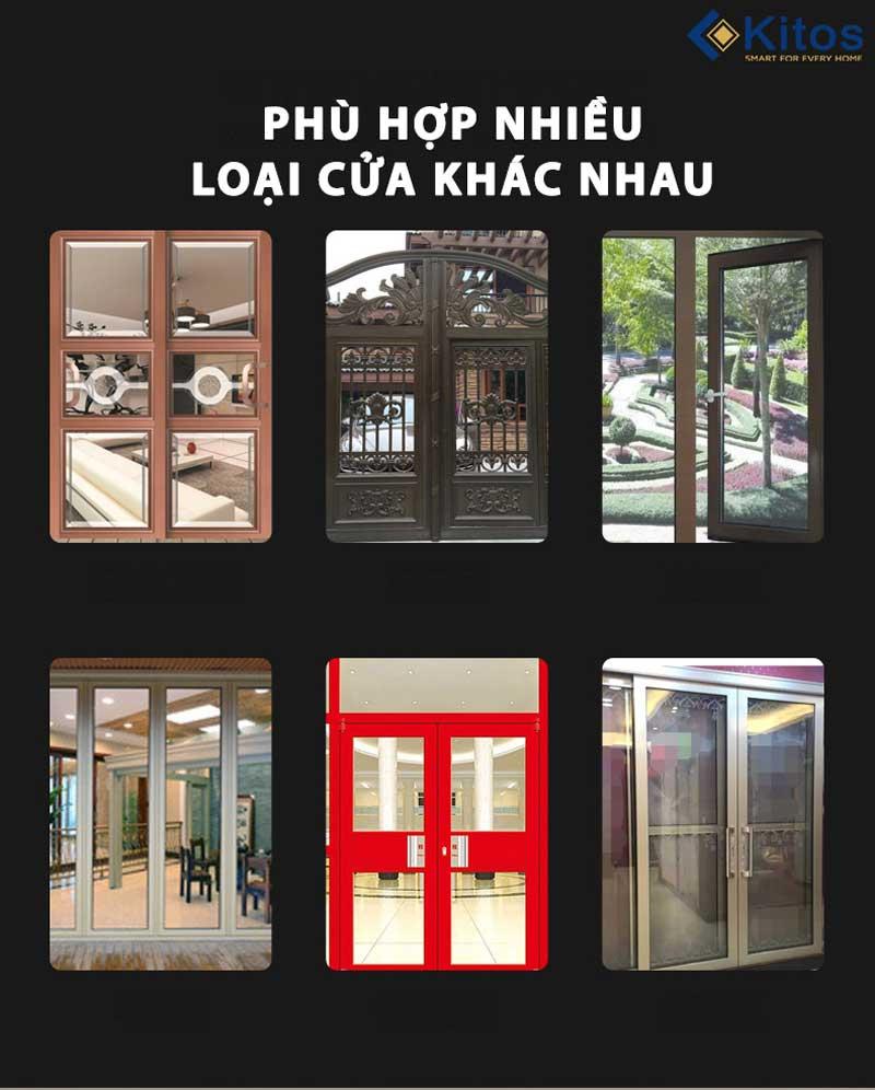 Khóa cửa nhôm điện tử Kitos KT-AL32