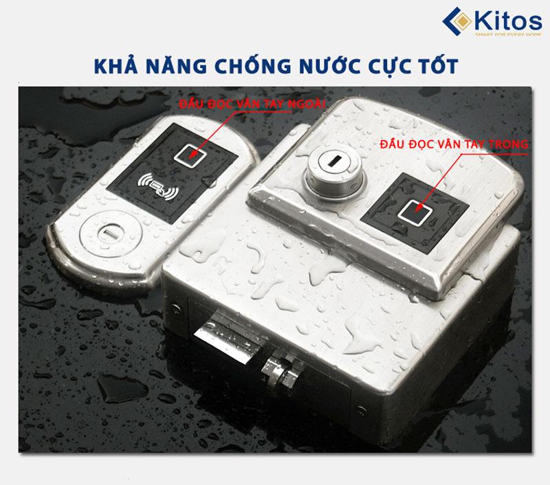 Khóa vân tay 2 chiều Kitos DL02 Pro