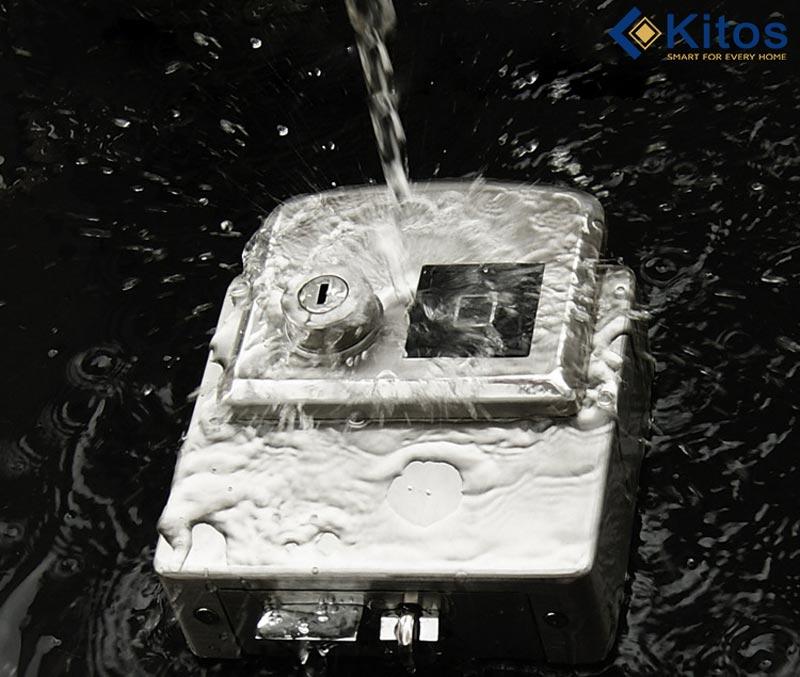 Khóa vân tay hai chiều hai mặt Kitos DL02 Pro