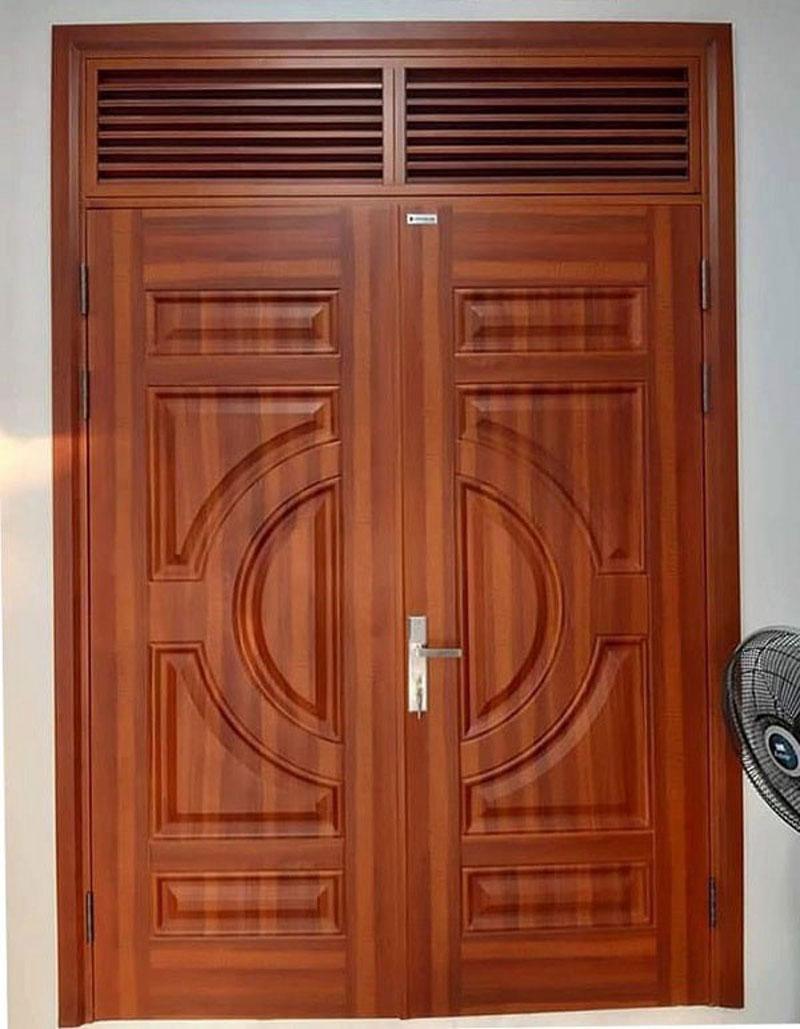 Báo giá cửa thép vân gỗ giá rẻ chính hãng tại Hà Nội