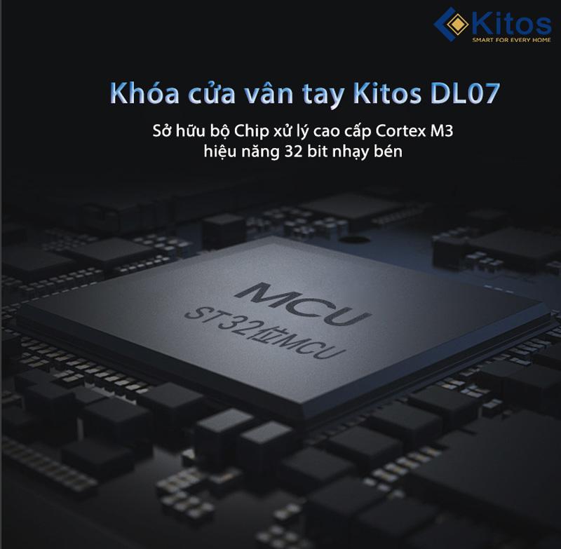 Khóa vân tay ngoài trời Kitos KT-DL07